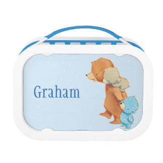Three Adorable Bear Friends Lunch Box