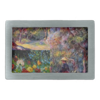 Three amazing masterpieces of Renoir's art Belt Buckles