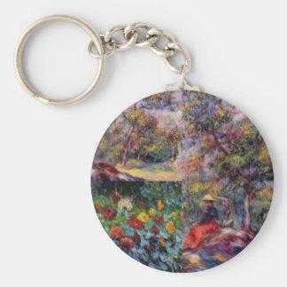 Three amazing masterpieces of Renoir's art Key Ring