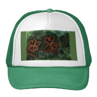Three and Four-leaf Clover Trucker Hat