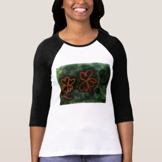 Three and Four-leaf clovers Tee
