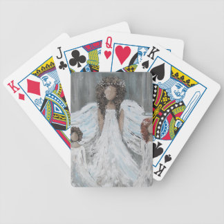 Three Angels Bicycle Playing Cards
