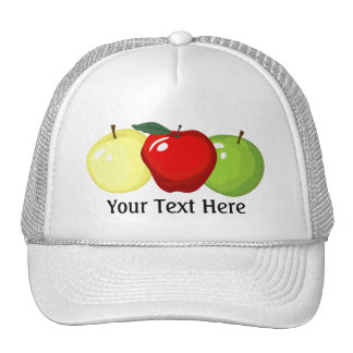 Three Apples Hat