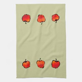 Three Apples kitchen towel