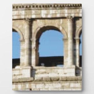 three arch wall plaque