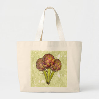 three as one large tote bag