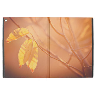 "Three autumn leaves iPad pro 12.9"" case"
