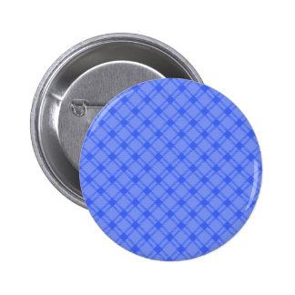Three Bands Large Diamond - Blue1 Pinback Buttons
