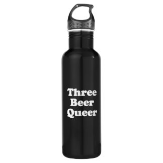 Three Beer Queer 710 Ml Water Bottle