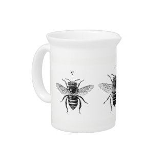 Three Bees Pitcher