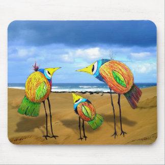 Three Birds Mouse Pad