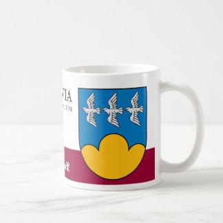 Three Birds on Blue Sky from Smiltene Latvia Coffee Mug