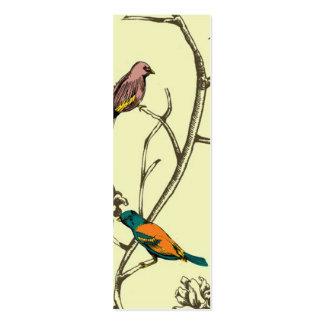 Three Birds Talking ~ Slim Business Card