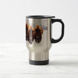 Three Bison Travel Mug