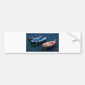 Three Boats Bumper Sticker
