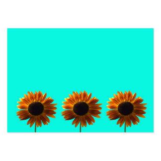 Three Bold Sunflowers Business Cards