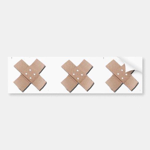 Three Booboos Bumpersticker Bumper Sticker