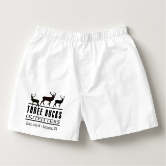 Three Bucks Outfitters Boxer Shorts Boxers