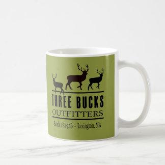 Three Bucks Outfitters Coffee Mug