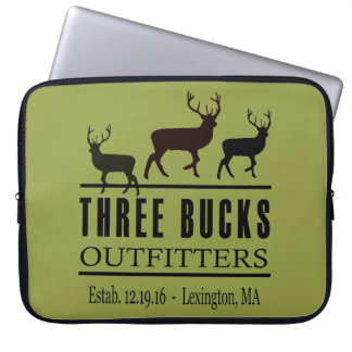 Three Bucks Outfitters Laptop Bag