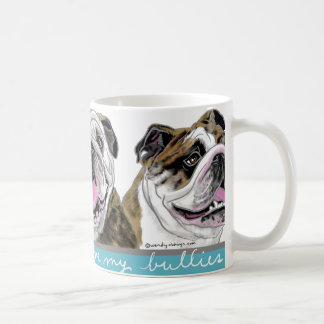 Three Bulldogs Coffee Mug