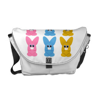 Three Buns Messenger Bag
