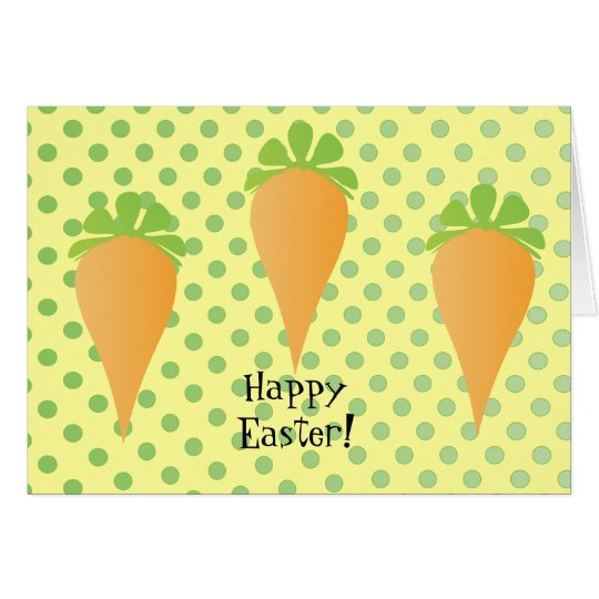Three Carrots Card