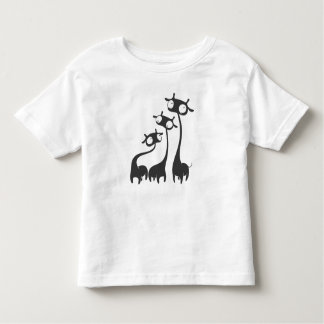 Three Cartoon Giraffes Toddler T-Shirt