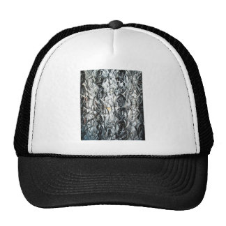Three Caryatides (abstract expressionism ) Hat