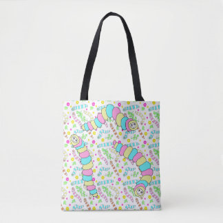Three Caterpillars Tote Bag