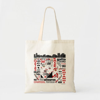 Three Cats City Sky Line Tote