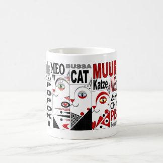 Three Cats Coffee Mug