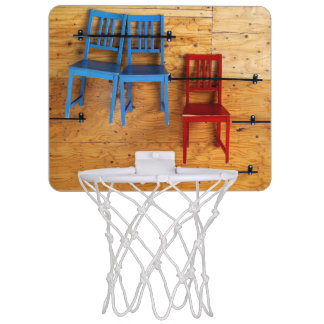 Three Chairs Mini Basketball Hoop