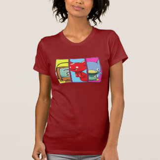 Three_characters T-Shirt