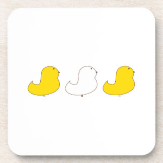 Three Chicks Beverage Coasters