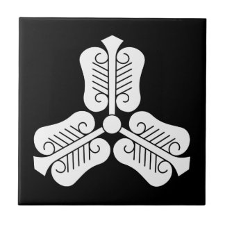 Three Chinese fans Ceramic Tile