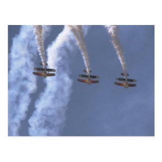 Three Christian Eagles, Diving Postcard