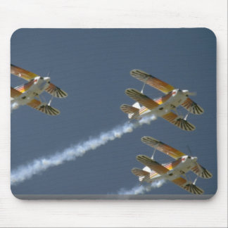 Three Christian Eagles Flying, From Below Mousepad