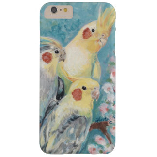 Three Cockatiels Barely There iPhone 6 Plus Case