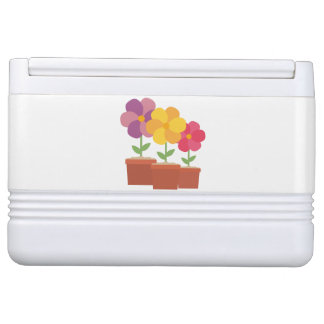 Three colorful Flowers Zo728 Cooler