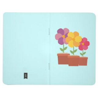 Three colorful Flowers Zo728 Journal