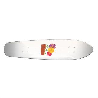 Three colorful Flowers Zo728 Skate Board Deck