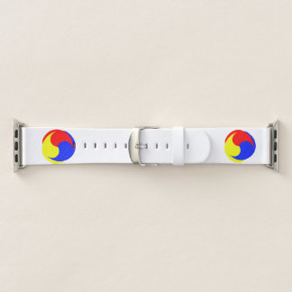 three colors apple watch band
