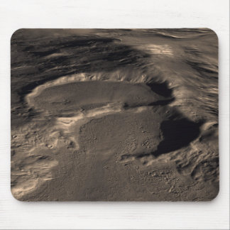 Three craters in the eastern Hellas region of M Mouse Pad