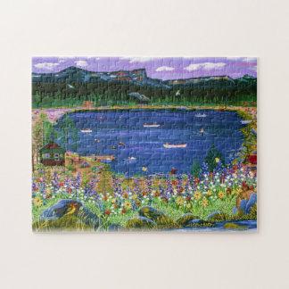 Three Creeks Lake Puzzle