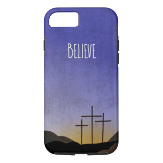 Three Crosses at Sunset iPhone 8/7 Case