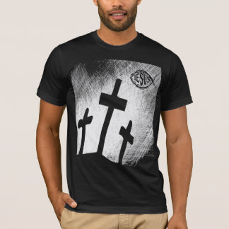 THREE CROSSES WITH FISH T-SHIRT