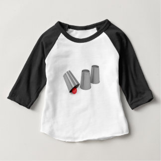Three cups and a ball baby T-Shirt