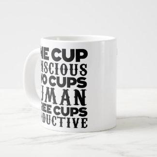Three Cups Specialty Mug Jumbo Mug