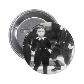 Three Cute Young Boys Vintage Photo 6 Cm Round Badge